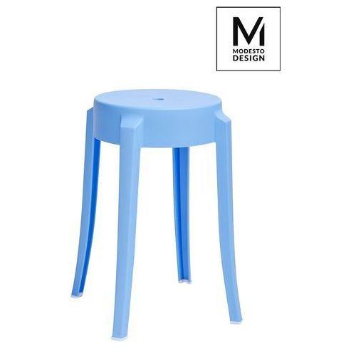 Modesto design Modesto stołek calmar 46 niebieski - polipropylen