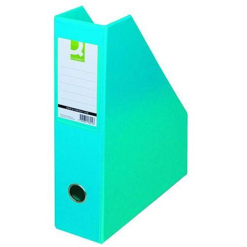 Pojemnik na dokumenty , pvc, a4/76, jasnoniebieski marki Q-connect