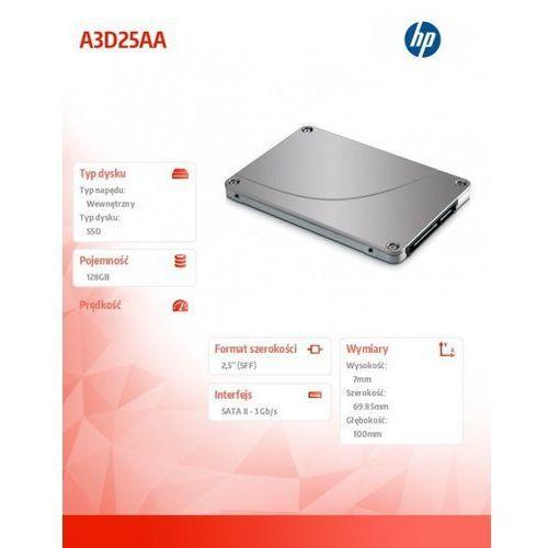 128gb sata ssd a3d25aa wyprodukowany przez Hewlett packard enterprise