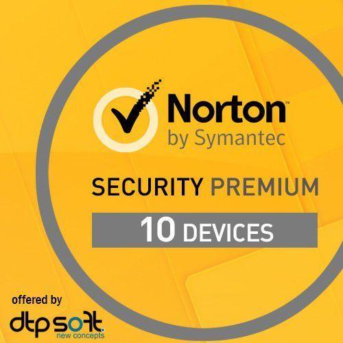 Norton security 2016 premium 3.0 1 użytkownik, 10 urządzeń marki Symantec