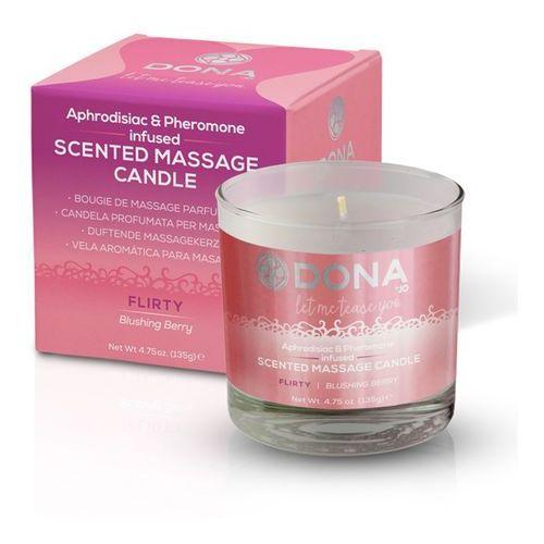 Sexshop - świeca zapachowa do masażu orientalnego - scented massage candle 225 ml owocowa - online marki Dona