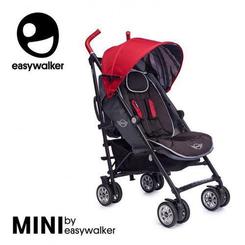 Easywalker Mini by wózek spacerowy z osłonką przeciwdeszczową 6,5kg union red (special edition)