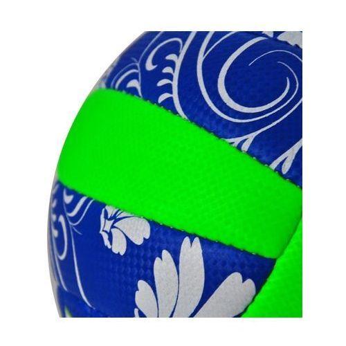 Piłka do siatkówki Sorento - niebieski/zielony (5901780920555)