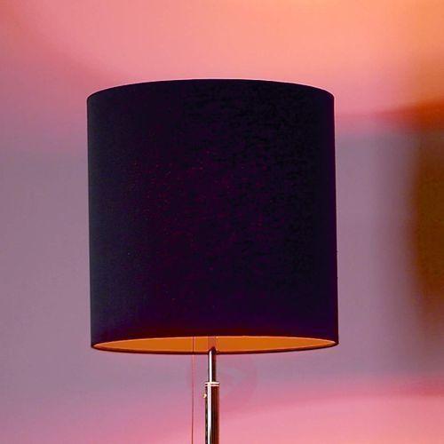 Designerska lampa stojąca antracyt pomarańcz marki Tecnolumen
