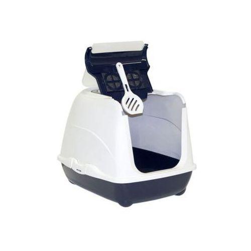 YARRO Toaleta FLIP nr 1 z filtrem i łopatką, kolor classic, 39x50x37cm - silver - Srebrny \ 39 x 50 x 37 cm, Y3412-0795 GRAN