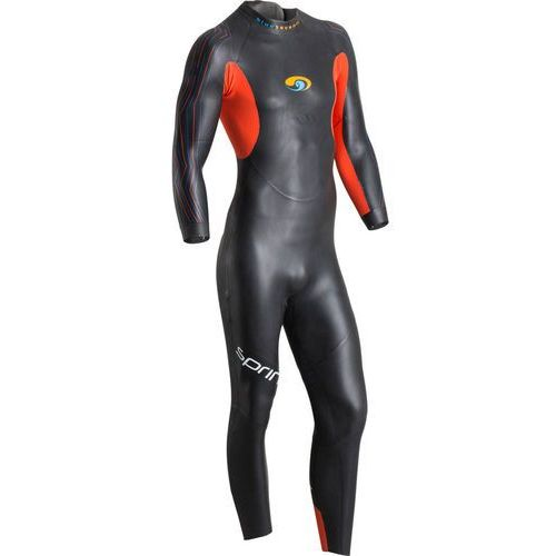 Blueseventy sprint mężczyźni czarny ml 2018 pianki do pływania (9421030586264)
