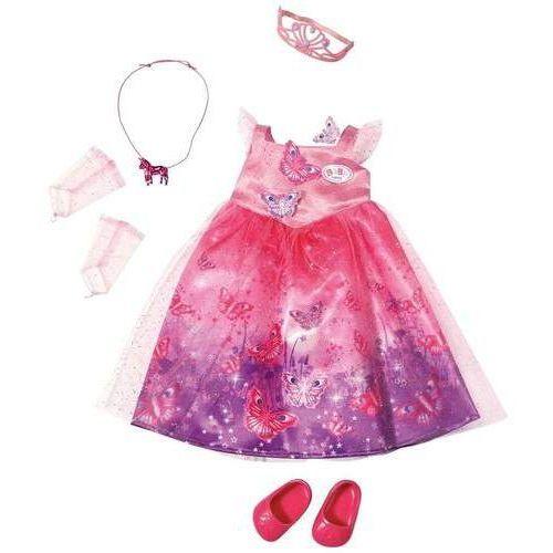 Zapf Baby born sukienka księżniczki z krainy czarów