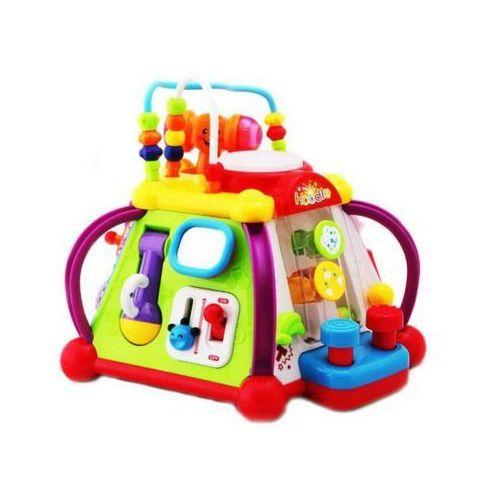 Zabawka edukacyjna kostka prezent roczek rozwija marki Huile toys