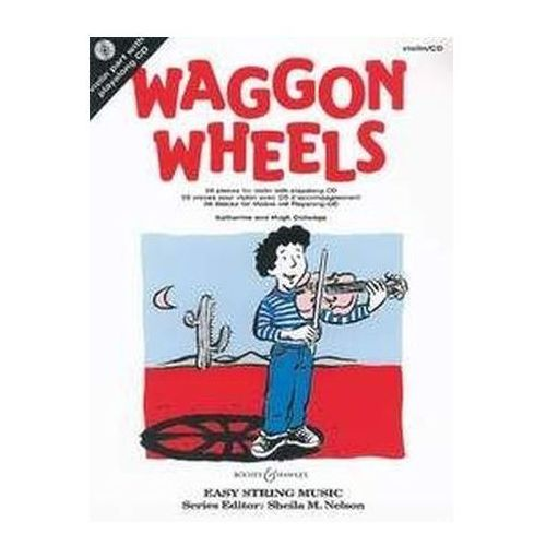 Waggon Wheels, für Violine, m. Audio-CD, Colledge, Katherine
