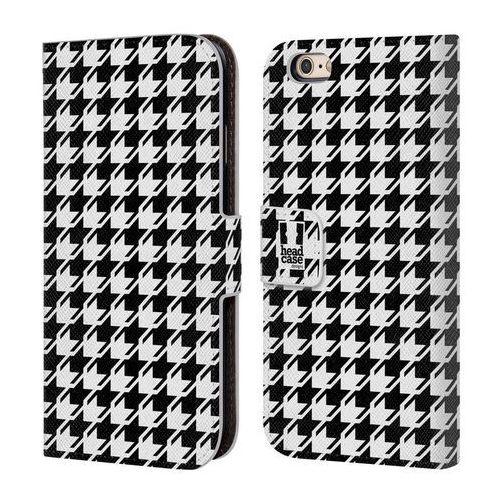 Etui portfel na telefon - houndstooth patterns black marki Head case
