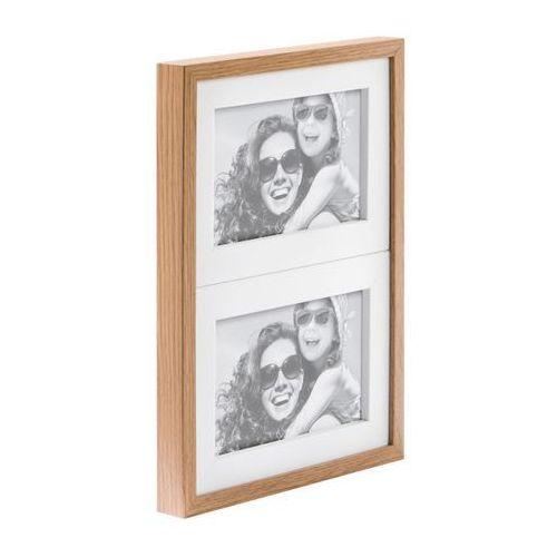 Galeria na zdjęcia Duo 2 x (10 x 15 cm) biała dąb