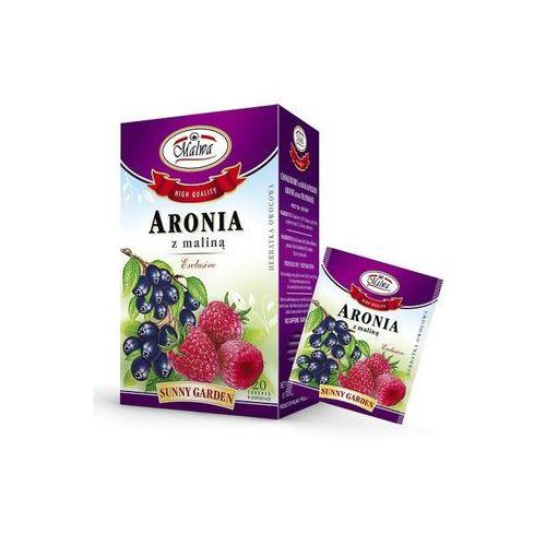 Malwa sunny garden herbata aronia z maliną owocowa marki Malwa tea