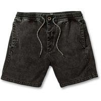 szorty VOLCOM - Flare Short Black (BLK) rozmiar: L