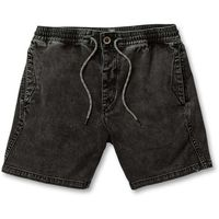 szorty VOLCOM - Flare Short Black (BLK) rozmiar: M
