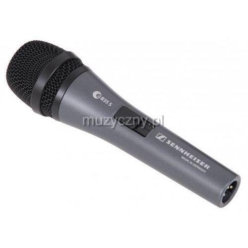 e-835s mikrofon dynamiczny marki Sennheiser