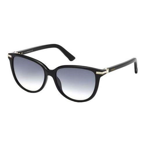 Okulary Słoneczne Swarovski SK 0077 01W, kolor żółty
