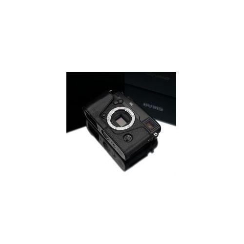 Halfcase z naturalnej skóry w kolorze czarnym dedykowany do Fuji Film X-PRO2