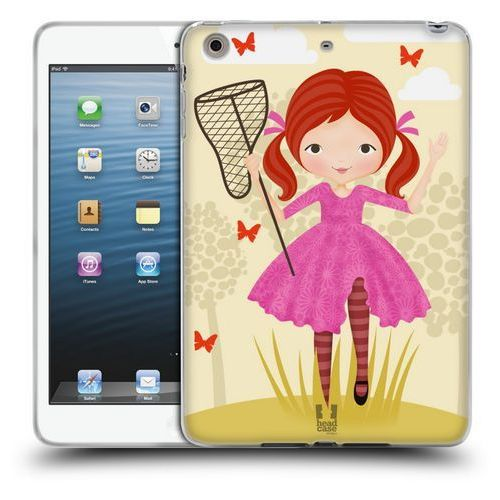 Etui silikonowe na tablet - Butterfly Catcher VIOLET