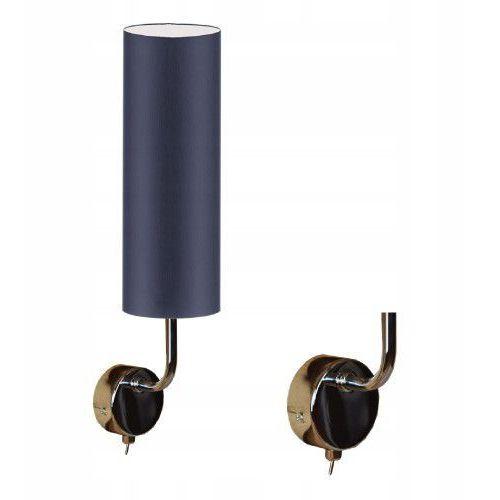 Stylowa lampa ścienna kinkiet CROCUS abażur tuba