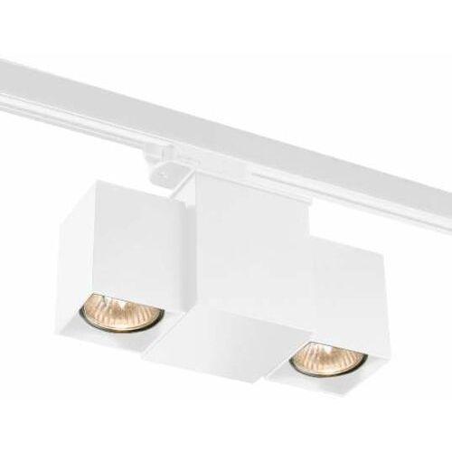 Reflektorowa LAMPA sufitowa BIZEN 7710 Shilo metalowa OPRAWA kostki do 3-fazowego systemu szynowego białe