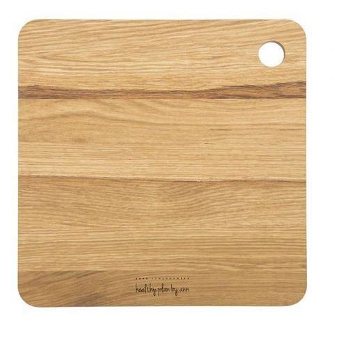 - deska do krojenia kwadratowa wymiary: 27 x 27 x 1,8 cm marki Healthy plan by ann