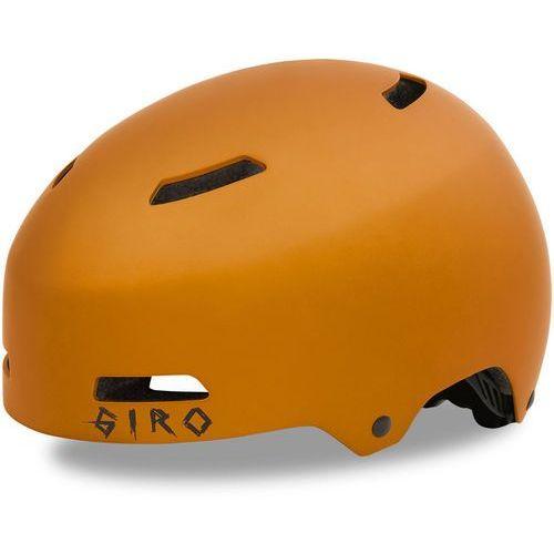 Giro quarter fs kask rowerowy pomarańczowy/złoty s | 51-55cm 2018 kaski rowerowe (0768686073458)