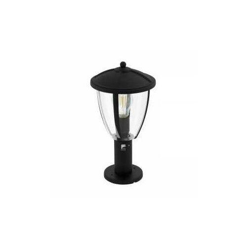 comunero 2 97337 lampa stojąca ogrodowa ip44 1x60w e27 czarny/transparentny marki Eglo