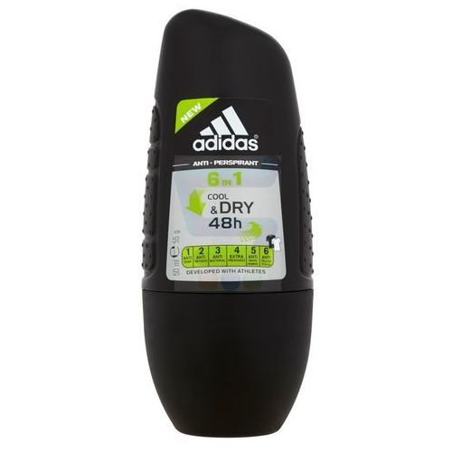 for men cool & dry dezodorant roll-on 6w1 50ml marki Adidas