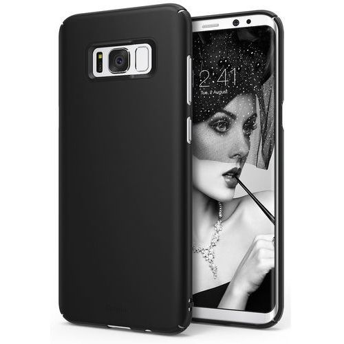 Etui Ringke Slim Samsung Galaxy S8 Plus SF Black - Czarny