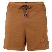 NIKE Spodnie sportowe 'M NK WILD RUN 2IN1 SHORT' brązowy / czarny, w 4 rozmiarach
