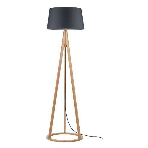 Lampa podłogowa Konan dąb/antracyt/antracyt E27 60W, kolor dąb/antracyt/antracyt