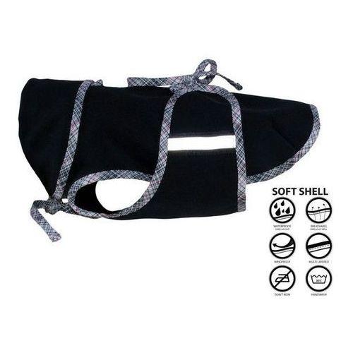 Grande finale dw70 derka dla psa czarna softshell rozm. 0-xxl końcówka kolekcji