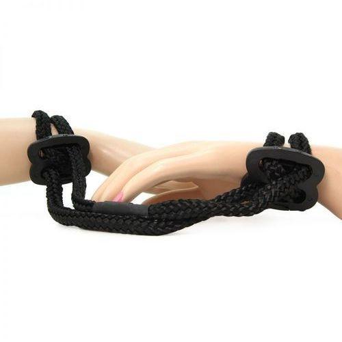 Jedwabiście miękkie kajdanki sznurek na ręce lub nogi | 100% dyskrecji | bezpieczne zakupy marki Shibari