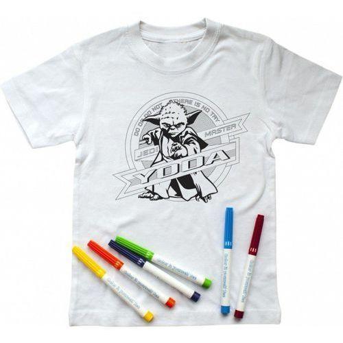 Koszulka Star Wars Yoda z mazakami 5-6 lat