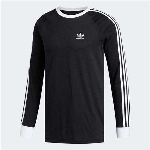 tričko ADIDAS - Ls Cli 2.0 T Black/White (BLACK)