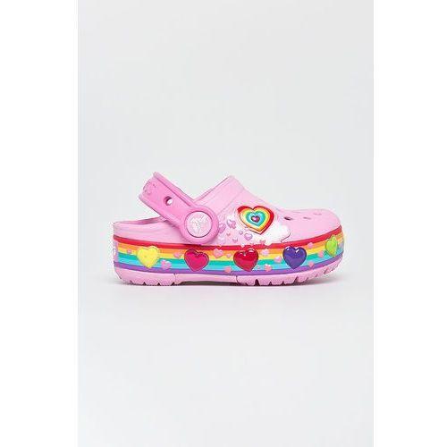 - klapki dziecięce marki Crocs