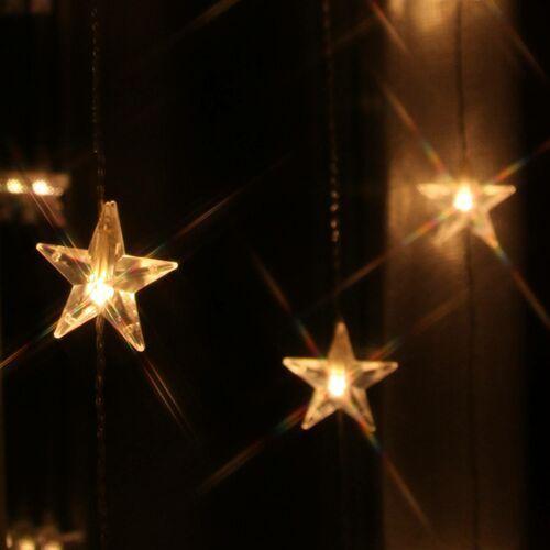 Dziesięć nitek - zasłona świetlna LED Star 20-pkt.