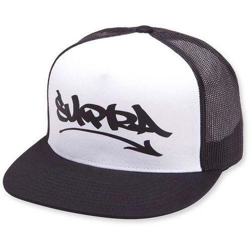 czapka z daszkiem SUPRA - Marker Flt Trckr Ht Black/White (002) rozmiar: OS