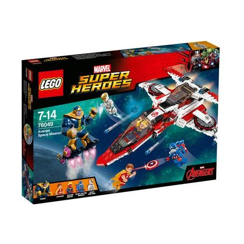 Lego SUPER HEROES Kosmiczna misja (avenjet space mission) - 76049