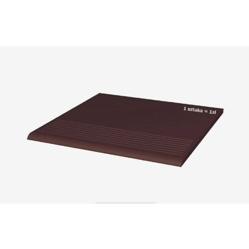 STOPNICA PROSTA NATURAL BROWN 30x30 GAT II