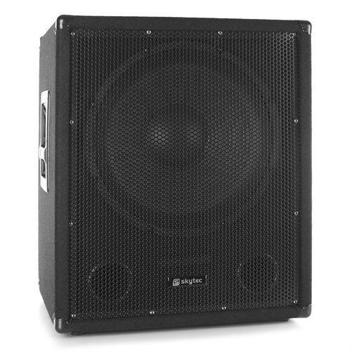 Aktywny głośnik niskotonowy pa  smwba15 bi-amp aux mic marki Skytec
