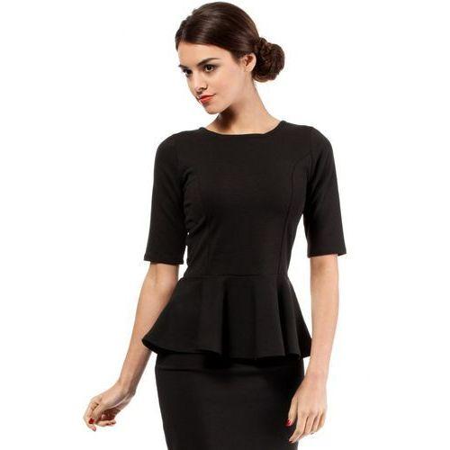 Bluzka MOE007 Black, kolor czarny