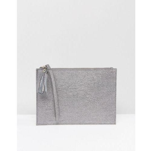 Miss KG Tanya Clutch Bag - Silver