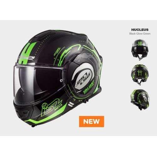 Ls2 Kask motocyklowy ff399 valiant nucleus blach green