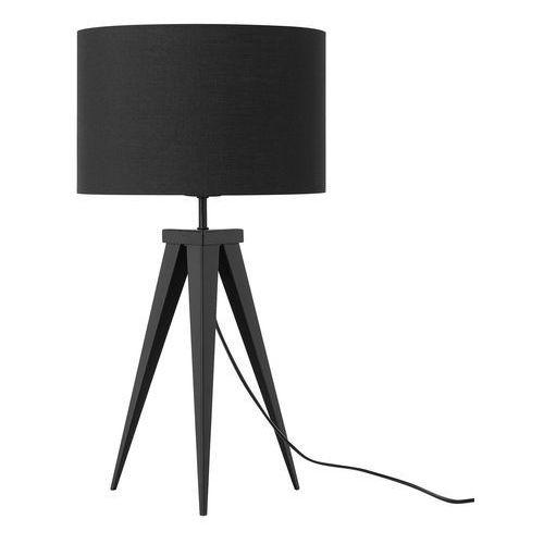 Beliani Lampa stołowa czarna 55 cm stiletto