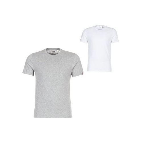 T-shirty z krótkim rękawem Levis SLIM 2 PACK CREW TEE, 82176-0005