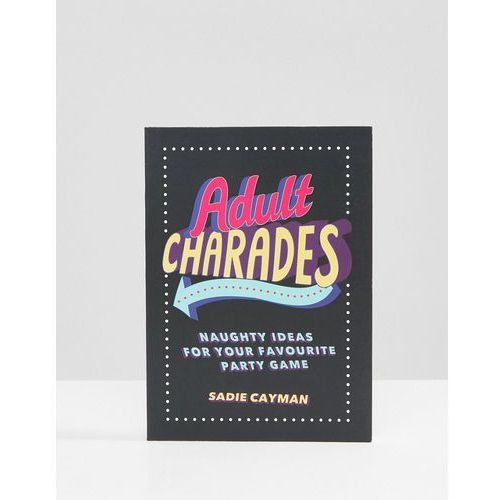 Adult Charades For Naughty Party Games Book - Multi