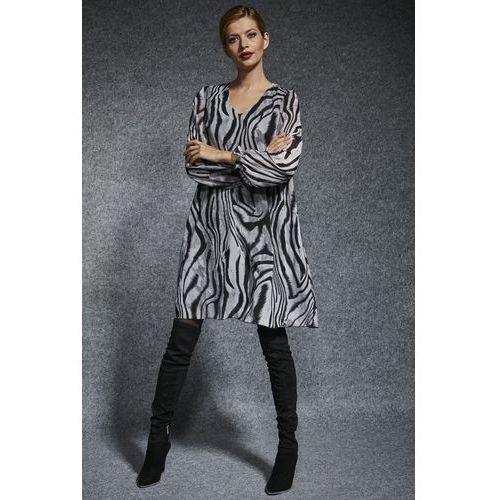 Wzorzysta sukienka - Ennywear