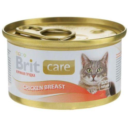 Brit Care Cat Chicken Breast - Pierś Kurczaka - Mokra karma dla kotów - puszka 80g