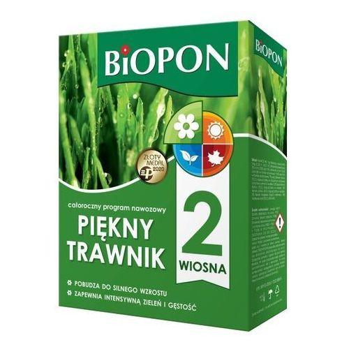 Biopon Nawóz piękny trawnik wiosna 2 kg